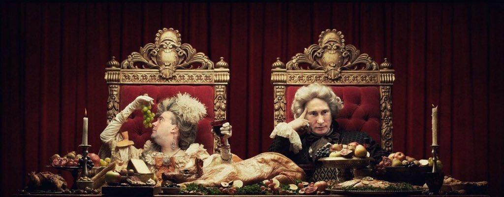Нет хлеба? Пусть едят пирожные!