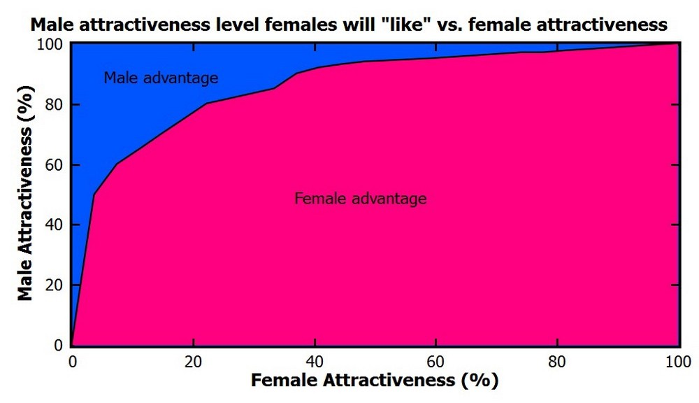 Статистика Tinder