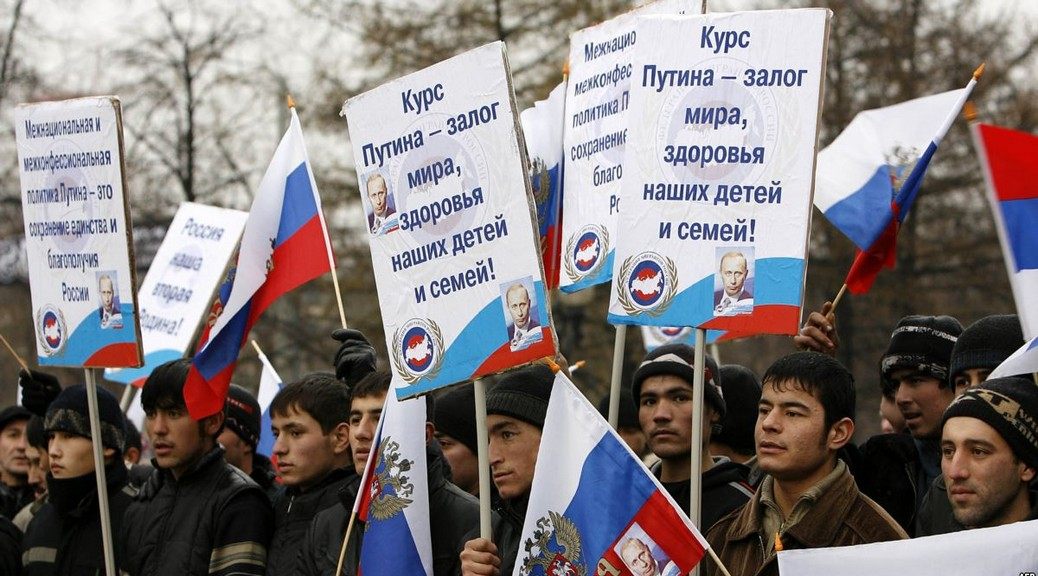 Вымирающих Россиян заменяют мигранты