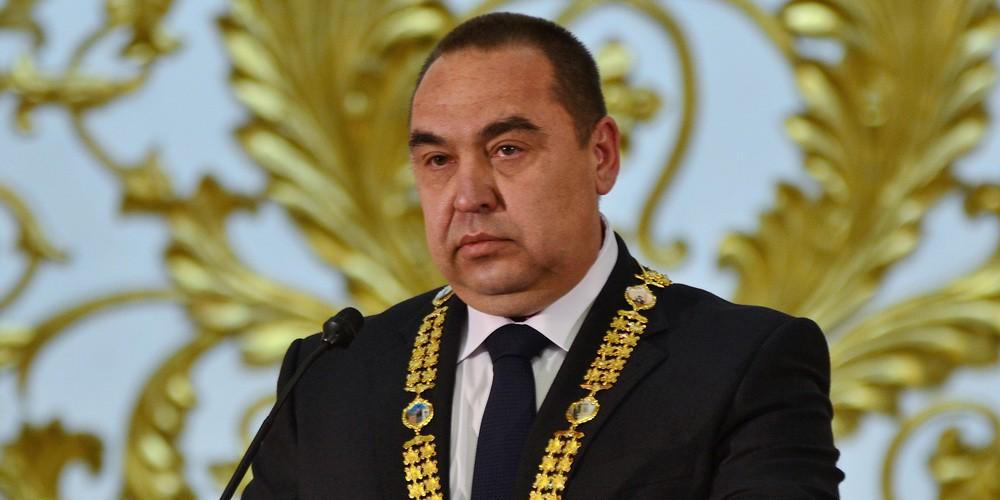 Глава ЛНР Игорь Плотницкий ушел в отставку