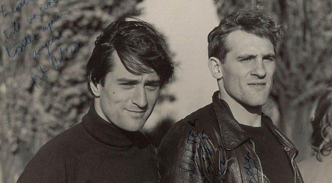 Молодые Роберт де Ниро и Жерар Депардье