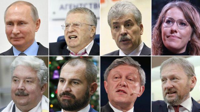 Кто станет президентом? Опрос проводится с 11 по 18 марта